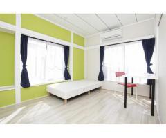 女性限定鍵付個室25000円~★収納の大変多いシェアハウス
